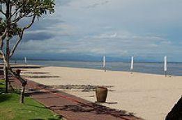 A scene in Bali onNyepi, the Hindu festival of silence. Everything is deserted, human footprint minimised.