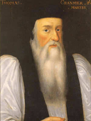 Thomas Cranmer, Archbishop of Canterbury, exer...