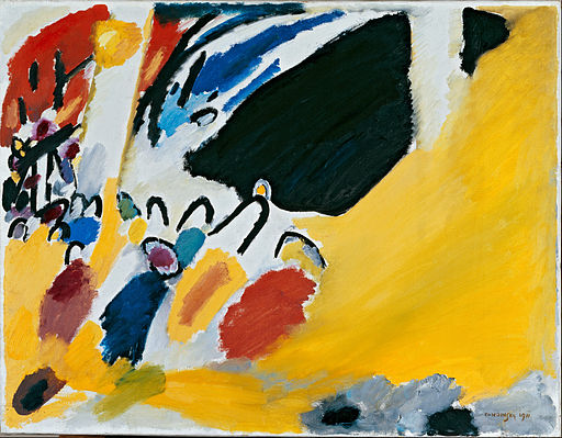 Wassily Kandinsky - Impression III (Concert) - Google Art Project