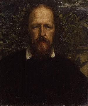 Alfred Tennyson, 1st Baron Tennyson, by George...