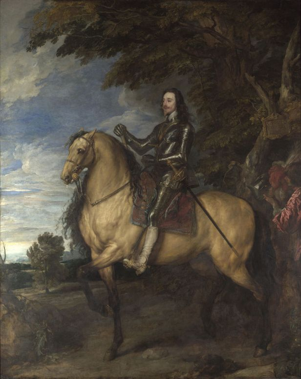 """Equestrian Portrait of Charles I"" by Anthony van Dyck"