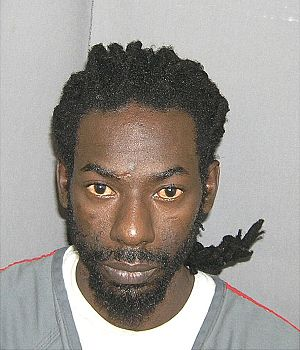 Mug shot of Buju Banton.