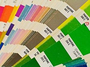 Colors by Pantone Português: Cores produzidas ...