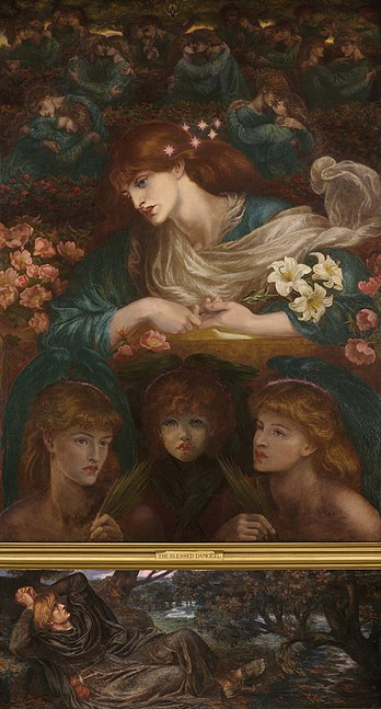 File:Dante Gabriel Rossetti The Blessed Damozel.jpg