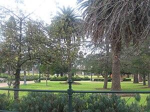 Brassey Square, a park in Eaglehawk, Victoria