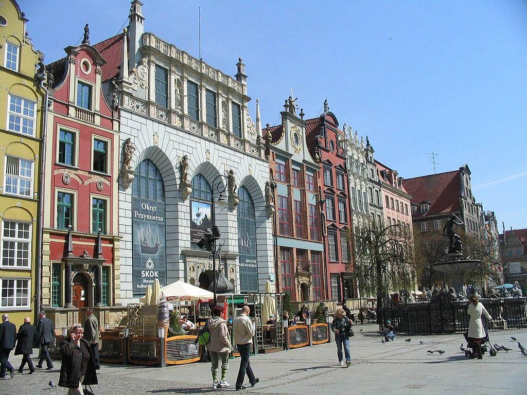 Gdańsk city centre IV