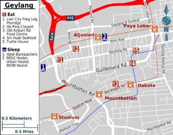 Map Of Geylang
