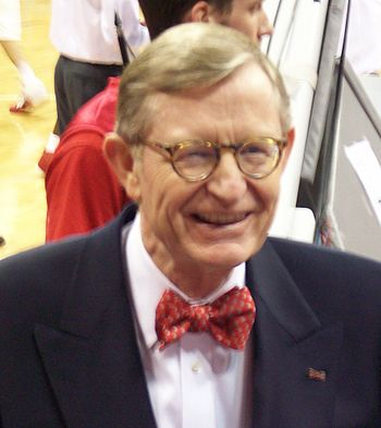 Picture of Gordon Gee, president of Ohio State...