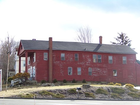 English: Elisha Sill House, in Goshen Historic...