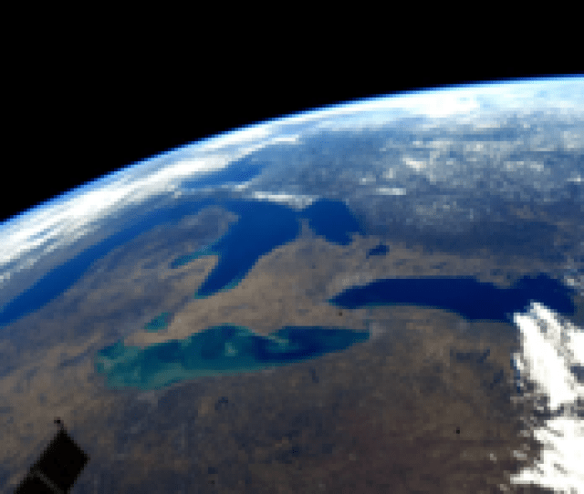 The Great Lakes During Early Spring
