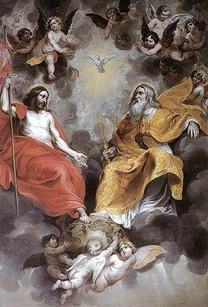 Baroque Trinity, Hendrick van Balen, 1620, (Si...