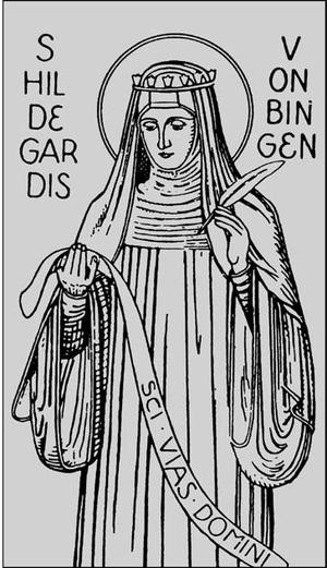 English: Hildegard of Bingen Русский: Хильдега...