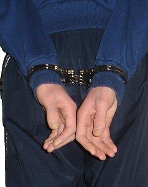 English: Handcuffs Handcuffed Handcuff Hinge H...