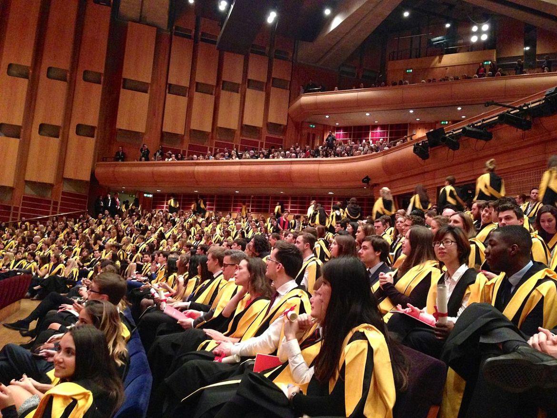 King's College London graduands.JPG