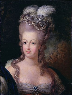 Portrait of Queen Marie Antoinette of France, ...