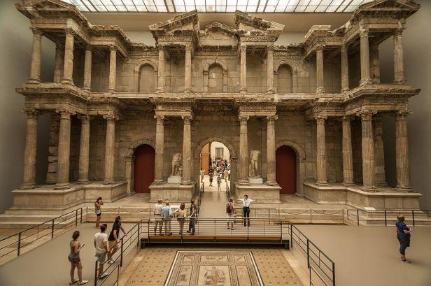 Market Gate of Miletus in the Pergamon Museum