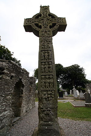Monasterboice, West cross
