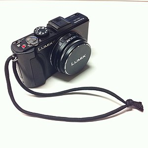 English: Panasonic Lumix DMC-LX5 digital compa...