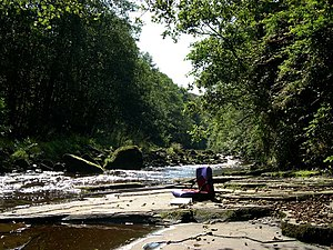 English: River Roeburn This is one of the most...