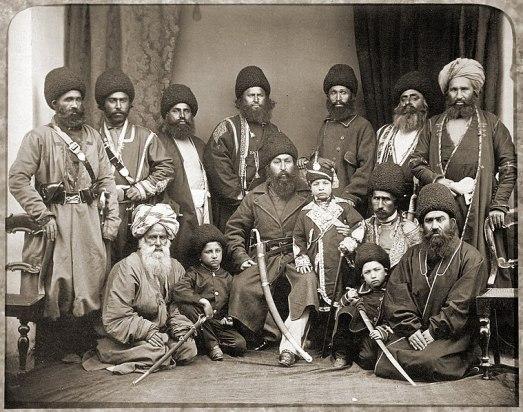 Типични за 19 век пущуни-воини.