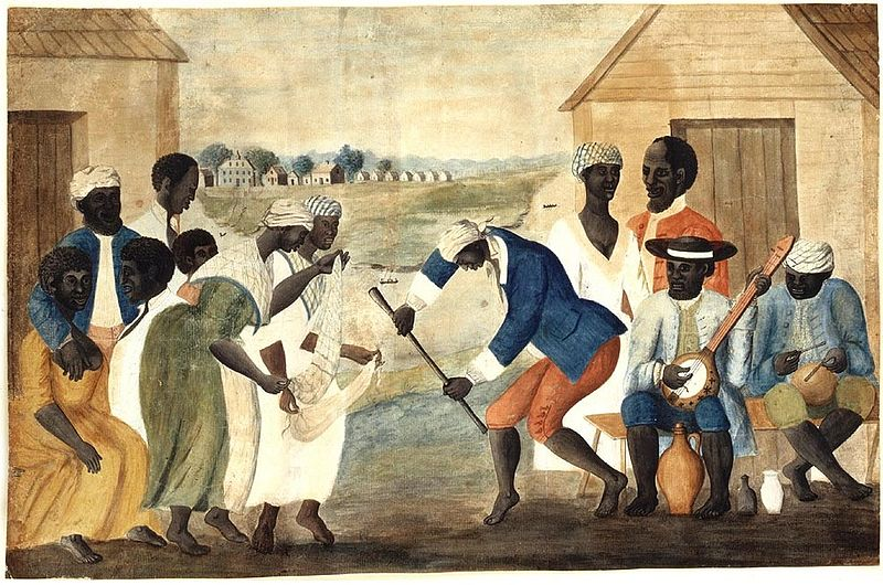 File:Slave dance to banjo, 1780s.jpg