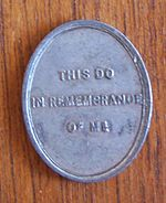 Scottish Presbyterian Communion token
