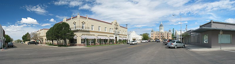 Welcome to Marfa.  There will be blood.  No Country for Old Men.  Giant.  Film Landmark.