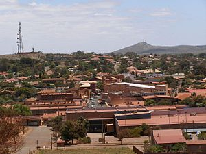 En:View across Whyalla from the Hummock Hill l...