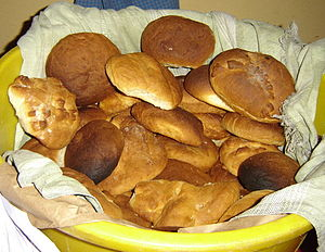 Typical Easter bread from the South Coast of G...