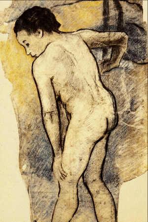 Breton Bather - Paul Gauguin