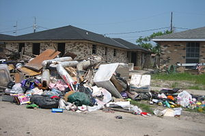 Chalmette, Louisiana, just over a year after t...