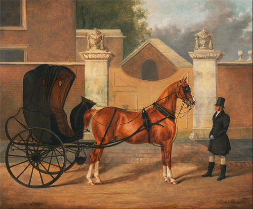 Charles Hancock - Gentlemen's Carriages- A Cabriolet - Google Art Project