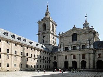 English: Courtyard of the Kings and the Basili...