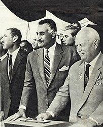 Egyptian former president: Gamal Abdul Nasser
