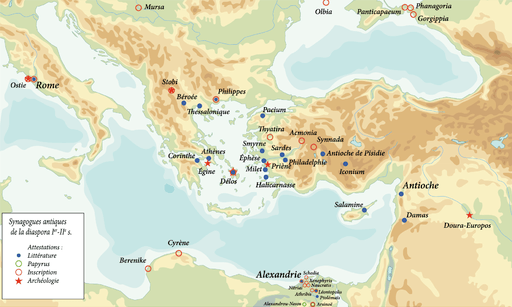 Image-Diaspora synagogues in Antiquity
