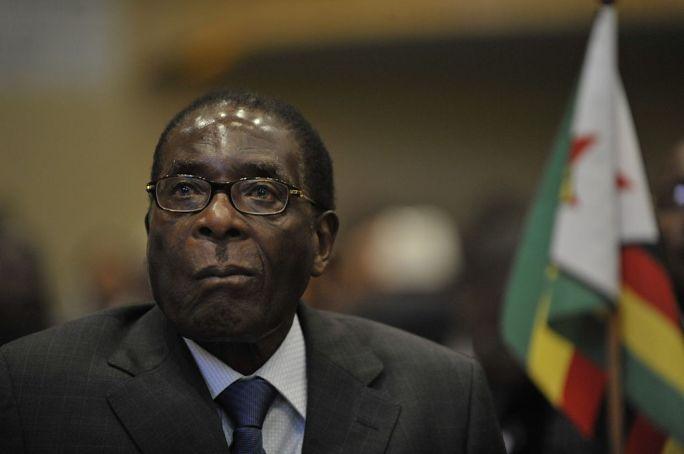 Robert Mugabe, 12th AU Summit, 090202-N-0506A-187