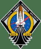 Patch della missione sts-135 Atantis