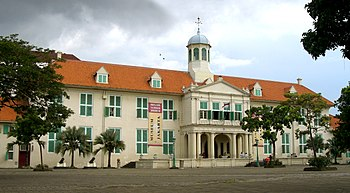 The former Stadhuis of Batavia, the seat of th...