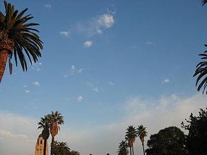 Stanford University Quad Sky