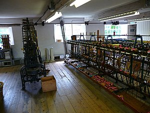 English: Whitchurch - Silk Mill This is one of...