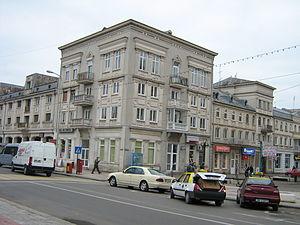Mihai Eminescu street in Brăila