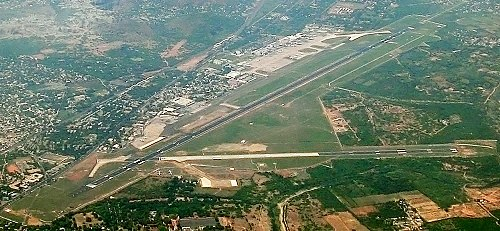 aerial view of chennai international airport anna international terminal and kamaraj domestic terminal