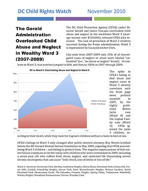 English: Graph of discrimination in protection...