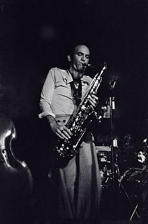 Dave Liebman Storyville - NYC - 1975?