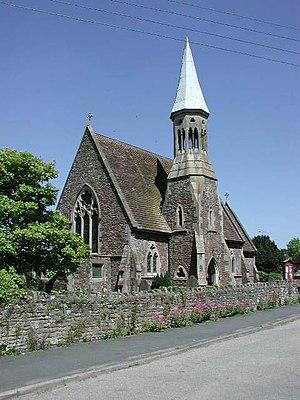 English: Falfield (Glos) St George's Church.
