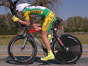 Landis at the 2006 Tour of California