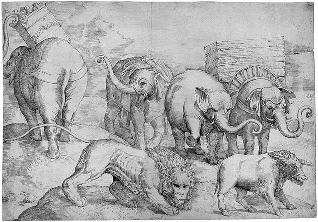 https://i1.wp.com/upload.wikimedia.org/wikipedia/commons/thumb/9/9a/Franco_Elephants_lion_and_boar.jpg/640px-Franco_Elephants_lion_and_boar.jpg
