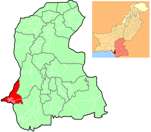 Location of Karachi, in the province of Sindh ...