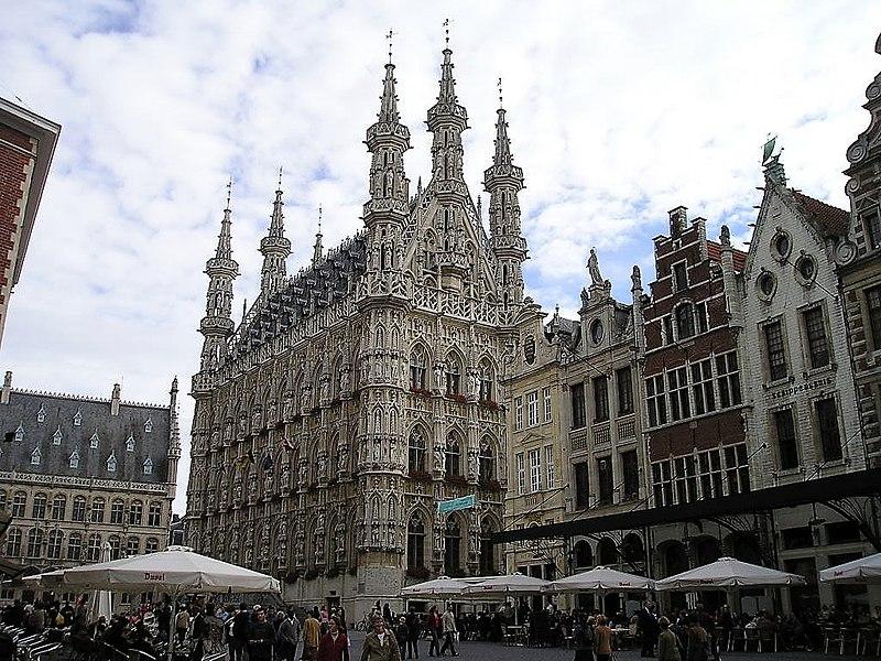 ratusz miejski w Leuven