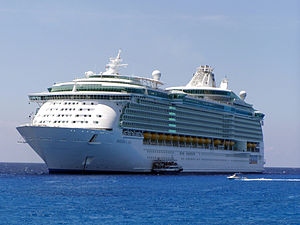 Royal Caribbean's Freedom of the Seas luxury c...